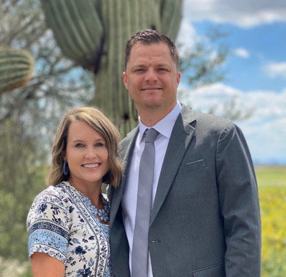 Pastors Mark and Holly Earle